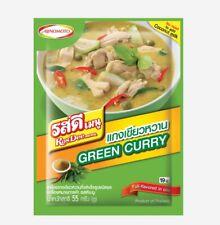 Thai Green Curry POWDER Ros DeeCreamy &SPICY TASTE No Need Coconut Milk Best 55g