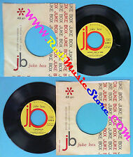 LP 45 7'' JOE SENTIERI Quando vien la sera E' mezzanotte JUKE BOX no cd mc dvd