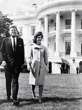 PHOTO PRESIDEN JOHN KENNEDY JACKIE JFK WHITE HOUSE NEW ART PRINT POSTER CC5395