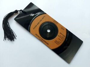 """Adam & The Ants, Prince Charming, 7"""" Vinyl Record Bookmark gift"""
