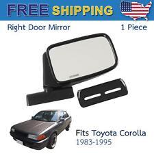 Right Side Door Mirror Fits Toyota Corolla KE30 KE55 KE70 TE71 TE72 Universal