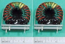 Micrometals T106-26 Toroid core with 28uH & 115uH windings 2 pieces NEW inductor