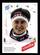 Nadja Hartmann Autogrammkarte Original Signiert Ski Alpine + A 151981