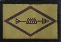 Amateur Radio Ham Operator Morale Patch Tactical Military USA  Hook Tab