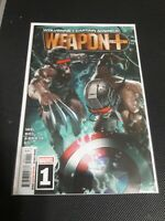 Wolverine And Captain America Weapon Plus #1 Cover A 1st Print (Marvel, 2019) NM