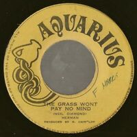 "islands soul rocksteady 7"" HERMAN CHIN-LOY The Grass Won't Pay Mind JAMAICA Hear"