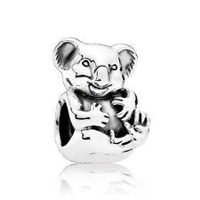 Authentic Pandora Charms 791951 Koala Charm Sterling Silver Bead