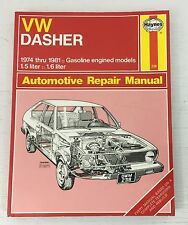 Haynes Repair Manual Volkswagen VW Dasher 1974-1981  CLEAN PAGES