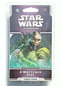 Star Wars LCG: The Card Game Force Pack- A Wretched Hive -New Factory Sealed
