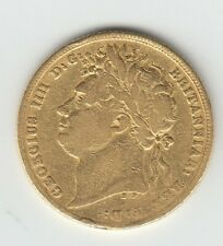 More details for very rare 1823 george iv gold sovereign