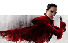 "048 Star Wars The Last Jedi - Daisy Ridley Action USA 2017 Movie 22""x14"" Poster"
