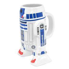 Star Wars Taza de cerámica, diseño R2-D2 3D sin tapa Ultra fresca 3d moldeado
