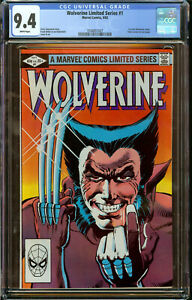 Wolverine Limited Series #1 NM Near Mint (CGC 9.4)