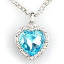 Heart of the Ocean AQUA Titanic Necklace  Boho Bohemian Jewellery Gift A203