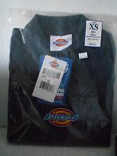 Dickies Girls Short Sleeve Polo Shirt Uniform - Dark Navy- Size X-Small (4)- New