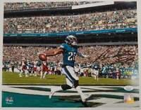 Miles Sanders Autographed Philadelphia Eagles 11x14 licensed Fanatics photo JSA