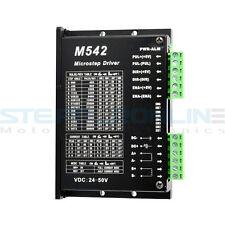 Nema 23 256 Microstep 2/4 phase 24-50VDC 1.5A-4.5A Stepper Motor Driver M542T