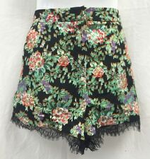 Floral Regular Size High Topshop Shorts for Women