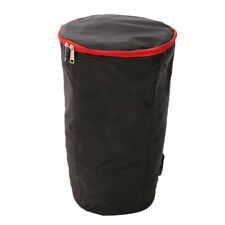 African Djembe Drum Case Gig Bag with Shoulder Strap for Percussionist 13''