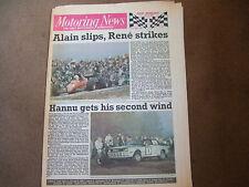 Motoring News 31 August 1983 Dutch GP 1000 Lakes Rally Brands GpA Silverstone F3