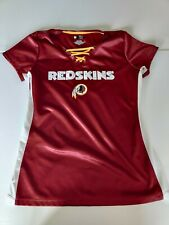 WASHINGTON REDSKINS WOMENS Size Medium Lace Up Jersey w/BLING on letters