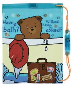 Kids Girls Boys Paddington Bear School Book Bag PE Kit