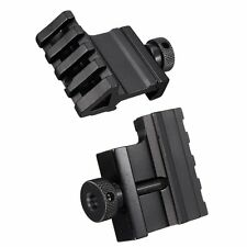 Tactical 45 Degree Angle Offset 20mm Weaver Rail Mount Picatinny Release New