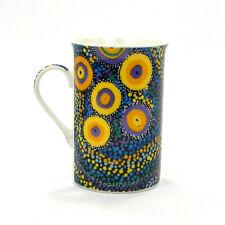 Mug Cup Bone China Coffee Tea Seven Sisters Dreaming Australia Aboriginal Art