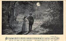(795) Postcard Unposted Semi-Photo Song Series, Chas K. Harris 1908