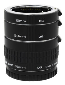 Kenko Automatic Extension Tube Set DG For Sony AF