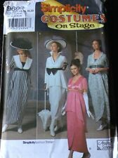 Simplicity Costumes On Stage Andrea Schewe Sz 14 16 18 20 Uncut