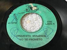 ORQUESTA MULENZE  / YO TE PROMETO / SOY FELIZ / 45RPM