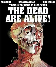 THE DEAD ARE ALIVE Code Red BLU-RAY Giallo ETRUSCAN KILLS AGAIN Samantha Eggar