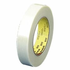 """12 Pack Scotch T914898112PK White 8981 Strapping Tape 60 Yard Long 0.75/"""" Width"""