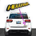 1 Hellhawk Emblem Fits Jeep Trackhawk Grand Cherokee Door Or Liftgate Badge Logo