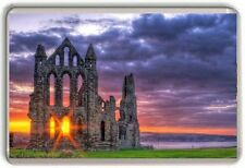 Whitby Abby, Yorkshire Engalnd Fridge Magnet