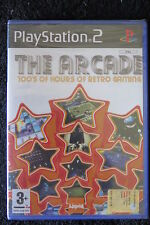 PS2 : THE ARCADE - Nuovo, risigillato! 10 classici in 1 ! 100 ore di retrogaming