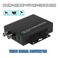 4 in 1 TVI/CVI/AHD to HDMI Video Adapter FHD 4K BNC 1080P For Tester Camera CCTV