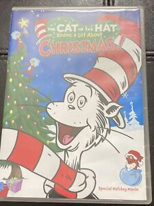 The Cat in the Hat Knows a Lot About Christmas DVD 2012 New Free Shipping