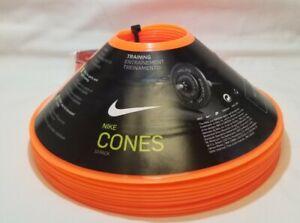 Nike - Training Cones - New - Orange (10 Pack) - Soccer Football - Team