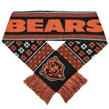 New Chicago Bears Forever Collectibles Scarf Knit Winter Neck Double Sided