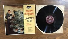 Lawrence Welk Merry Christmas LP Coral CRL 57093 Mono VG