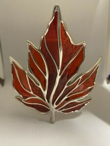 NEW Bath & Body Works Nightlight Red Maple Leaf Wallflower Plug in Diffuser NWT