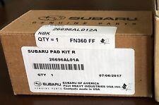 Genuine OEM Subaru rear Brake Pad Set part # 26696AL01A (26696AL000)