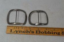 shoe buckles 18,19th c early silver handmade match pr original 1700 rare antique