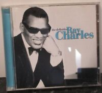 RAY CHARLES - The Definitive - 2 x CD ALBUM