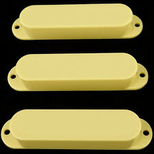 *NEW PICKUP COVERS for Fender Standard Stratocaster Strat Cream with NO HOLES