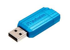 16GB Verbatim PinStripe Store N Go USB2.0 Flash Drive - Blue