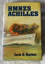 More details for unique hmnzs achilles:  signed book , achilles assoc. letter provenance, stamps