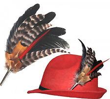 NEU Hutfeder Hut  Federn Hutschmuck für Damenhut mit Hülse  20 cm